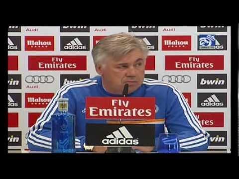 Conferencia de prensa de Carlo Ancelotti previa al partido ante el Villarreal
