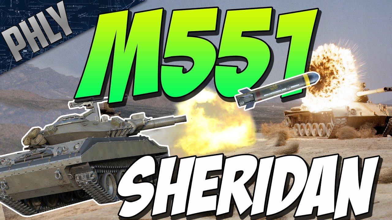 WAR THUNDER 1.59 - MISSILE TANK M551 SHERIDAN (War Thunder 1.59 Gameplay) - YouTube