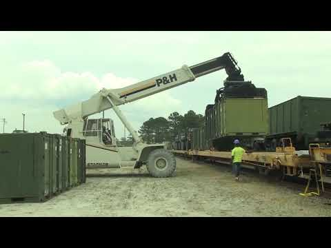 Like a Boss ! Marines Move Million $ Worth of Military Vehicle During  Massive Rail Operation