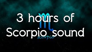 Gambar cover 🎧 ♏ Scorpio relief sound - Pure frequency of Scorpio 392 Hz and music white noise