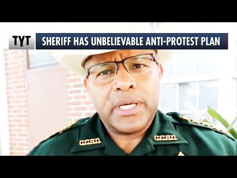 Sheriff Helping Armed Civilians Fight Protesters
