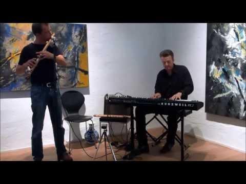 Arnd Hawlina, Tobias Bülow, Improvisation with piano and bansuri
