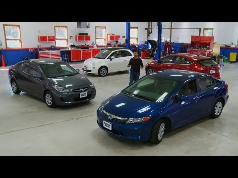 Small Car Buying Guide Consumer Reports