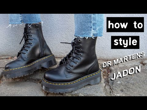 How to Style | Dr Martens Jadon Platform Boots Part II