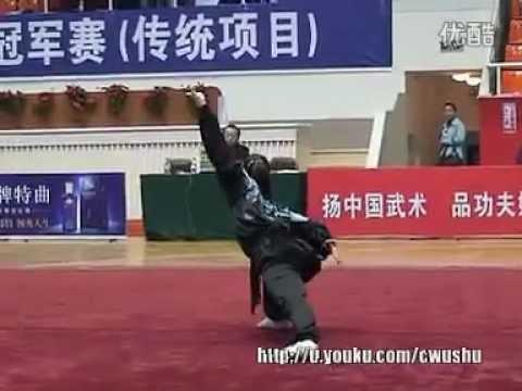 2011 China Traditional Wushu Nationals  Ying Zhao Quan  Zhang ChunYan Zhejiang