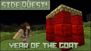 Zoo Crafting: Side Quest! Year of the Goat Shrine!