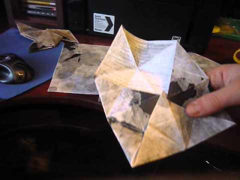Хеви рейн оригами схема