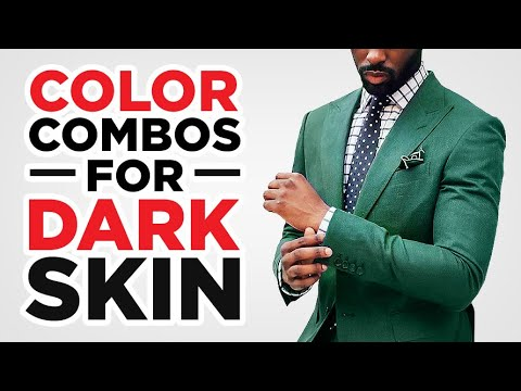 5 AMAZING Color Combinations For Dark Complexions | The StyleJumper Collab