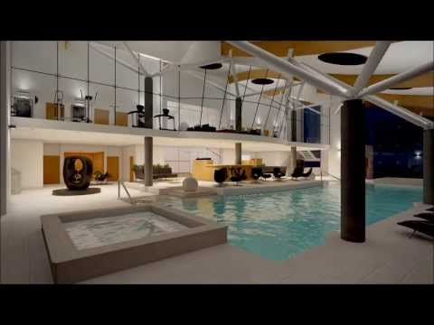 GSSArchitecture - Private Fitness Centre Animation