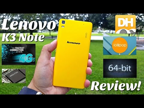"""Lenovo K3 Note - [Review] - Great Value Smartphone - MTK6752 - 2GB/16GB - 5.0 Lollipop - 5.5"""" FHD"""