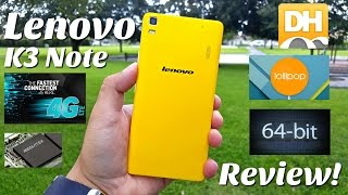 Lenovo K3 Note - [Review] - Great Value Smartphone - MTK6752 - 2GB/16GB - 5.0 Lollipop - 5.5' FHD
