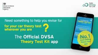 The Official DVSA Complete Theory Test Kit iOS app overview