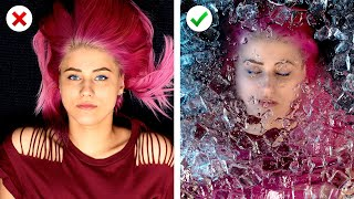 10 Fun and Creative Photo Ideas! Instagram Photo Hacks thumbnail