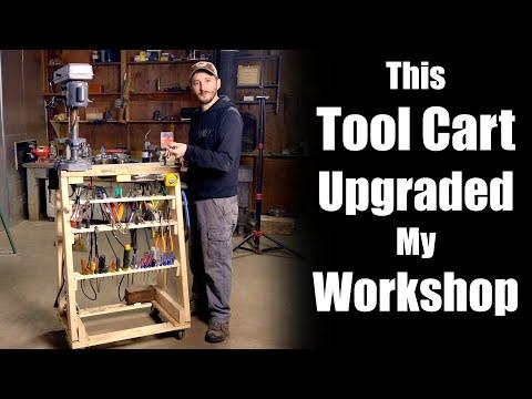 Building an Adam Savage Inspired Tool Cart