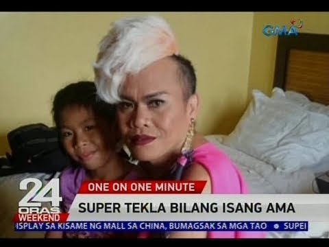 24 Oras: One on One Minute: Super Tekla bilang isang ama