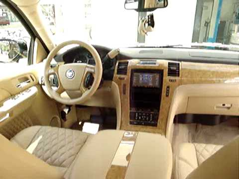Escalade interior by Unicate - YouTube