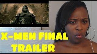 X-Men: Apocalypse | Final Trailer |REACTION