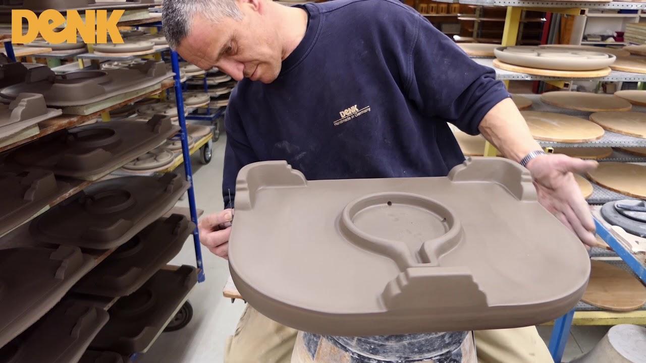 Minkas-Kachelofen. Hergestellt in Handarbeit - DENK-Keramik - YouTube