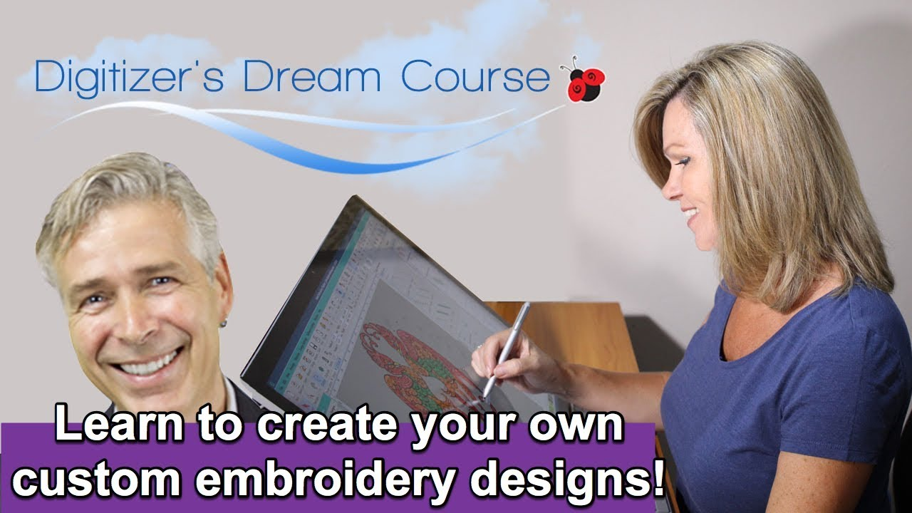 Embroidery Digitizing: How to Create Your Own Designs (2019)