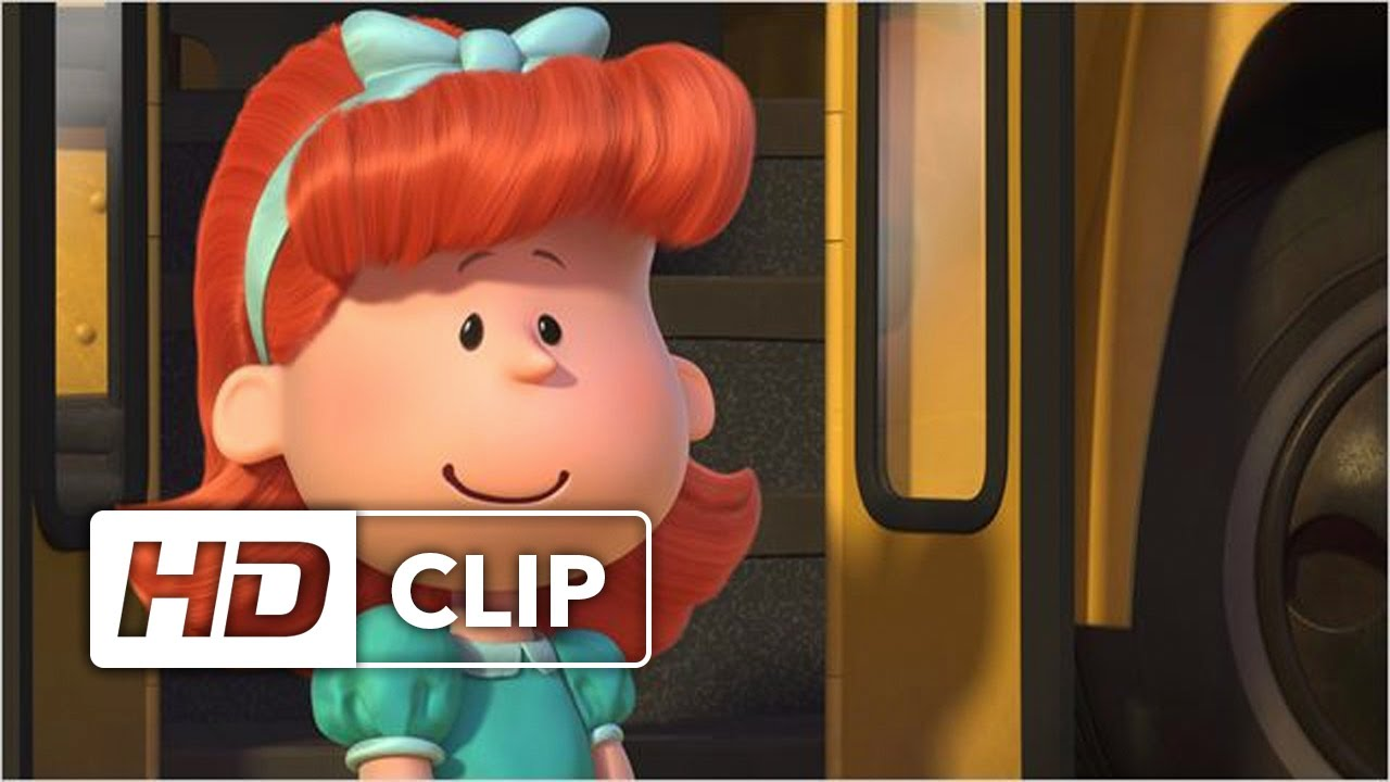 CARLITOS Y SNOOPY: La Película de Peanuts | La Chica Pelirroja - YouTube