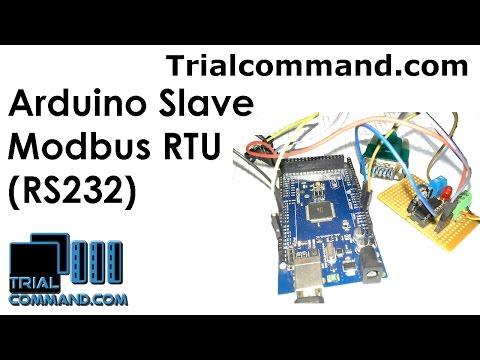 Arduino Slave Modbus RTU (RS232) - TrialCommand