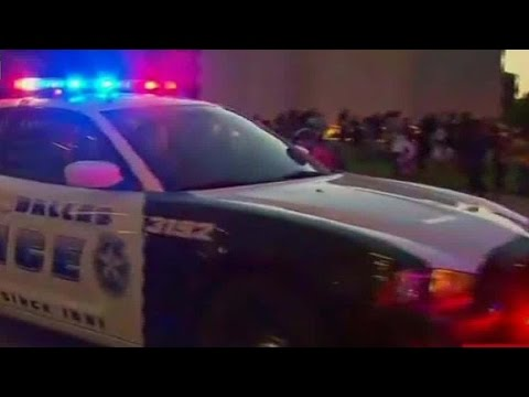 Dallas shooting witness: I heard about 20 gunshots