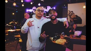 Timati receives ALL GOLD Money Counter from Ben Baller