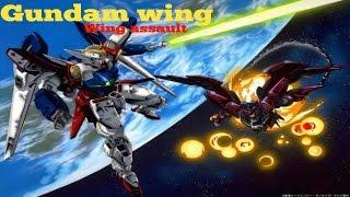 Old school toonami games! - Gundam wing wing assault