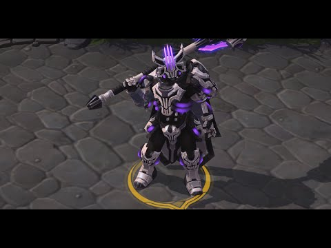Heroes of the storm dance and jokes space lord leoric - Heroes of the storm space lord leoric ...