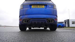Video Range Rover SVR MY 2018 exhaust sound download MP3, 3GP, MP4, WEBM, AVI, FLV Mei 2018