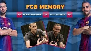 BARÇA MEMORY: Sergio Busquets vs Paco Alcácer
