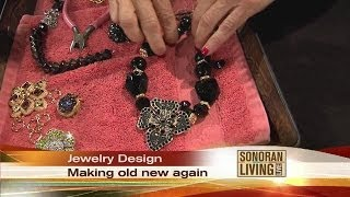 Turning old jewelry into a work of art with Devy Walker