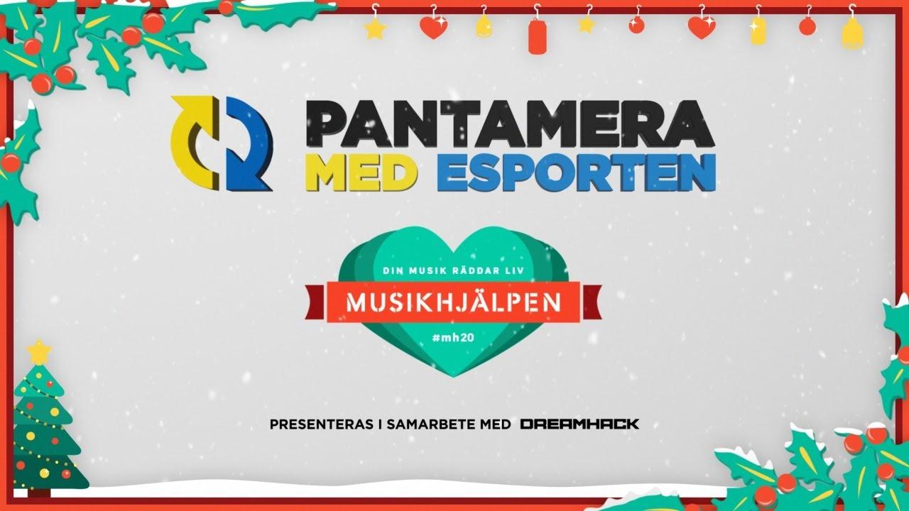 Pantamera med Esporten för Musikhjälpen [12H SWEDISH STREAM]
