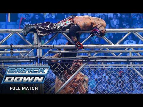 FULL MATCH - Rey Mysterio vs. Batista - Steel Cage Match: SmackDown, Jan. 15, 2010