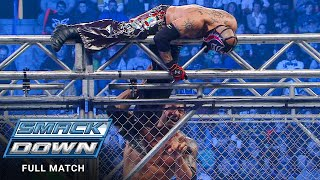 FULL MATCH - Rey Mysterio vs. Batista - Steel Cage Match: SmackDown, Jan. 15, 2010