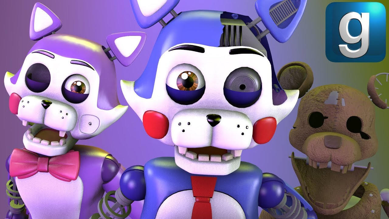 Gmod FNAF | Messing Around With Five Nights at Candy's 2 Nextbots!