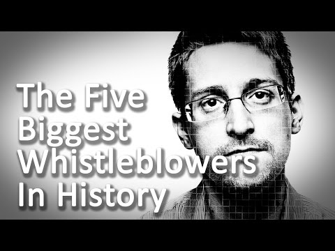 The Five Biggest Whistleblowers in History