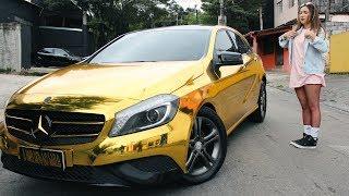 Minha Mercedes Puro Ouro! Unica No Brasil