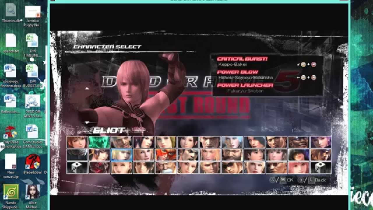 Скачать dead or alive 5 last round pc торрент.