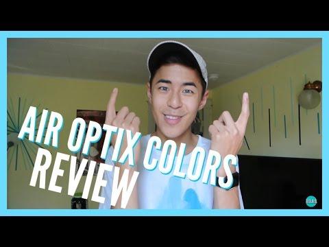 AIR OPTIX COLORS REVIEW