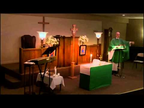 Twenty-second Sunday after Pentecost - October 28, AD 2012 - Saints Mary and Martha Anglican Church