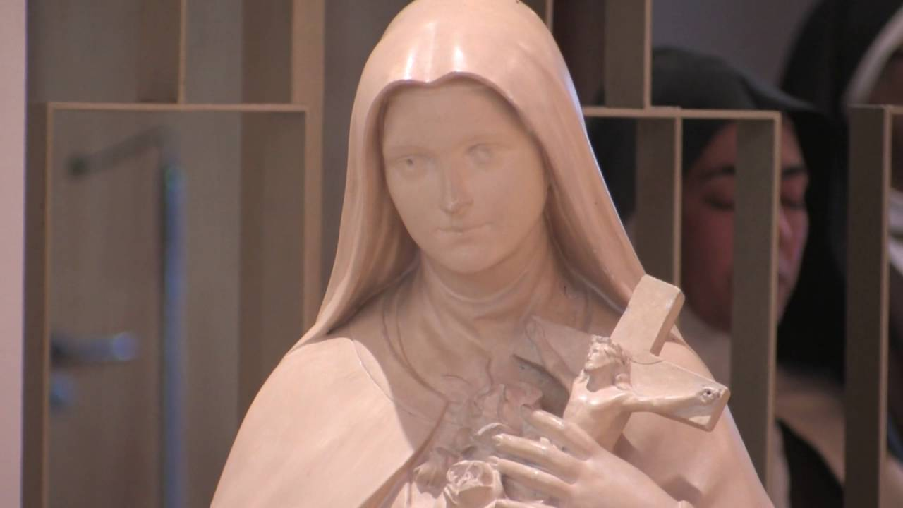 Eucaristia da Festa de Santa Teresinha presidida pelo Pe Joaquim Teixeira