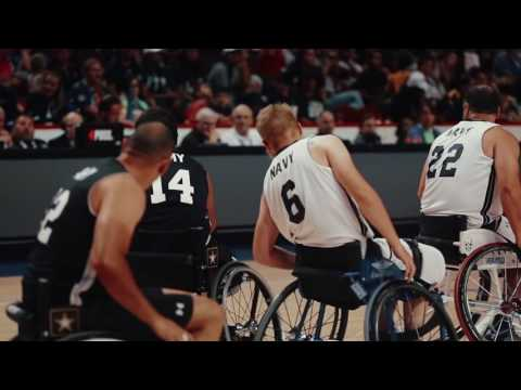 2017 DoD Warrior Games - Team Army vs Team Navy Gold Medal Matches