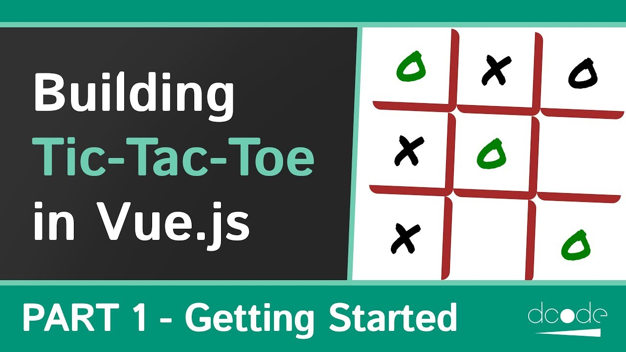 Building a Tic-Tac-Toe game with Vue.js - Part 1/3