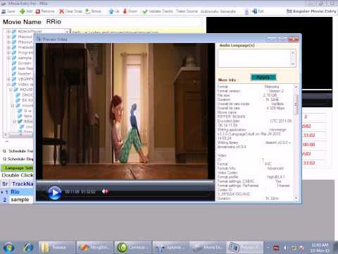 Playout Software with CG with Twitter - Aplomb Technology