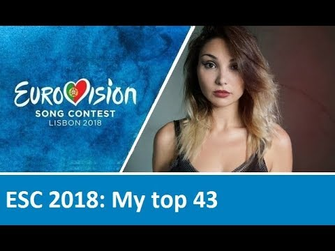 Eurovision 2018: My final top 43 with comments (from the Netherlands)