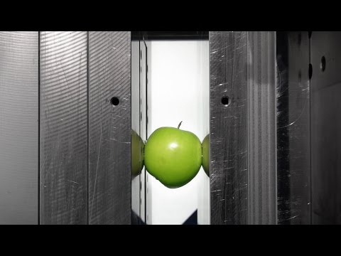 Mould Safety Proof - Apple in our Injection Molding Machine