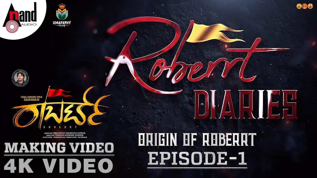 Roberrt Diaries | Making Video Episode 01 | Darshan|Tharun Kishore Sudhir|Arjun Janya|Umapathy Films