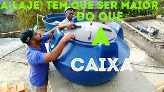 BASE DE LAJE PRA CAIXA D'ÁGUA (COMO FAZER)