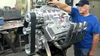 BLOWN 392 CHRYSLER HEMI ROARS